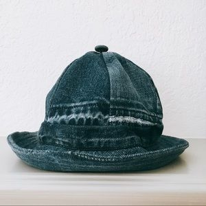 Sustainably-Made Upcycled Jean Denim Bucket Hat